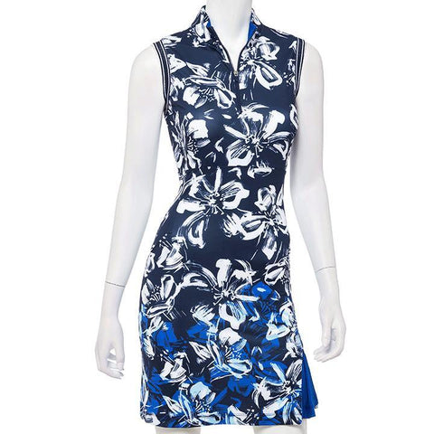 EP Pro Out of the Blue Inky Sleeveless Dress