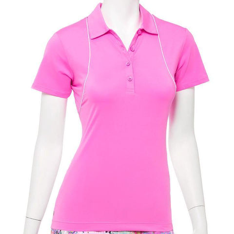 EP Pro True Colors Pink Smoothie Polo - Gals on and off the Green