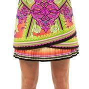 Lucky in Love Rockin Rococo Scallop Pleated Skort (Long)