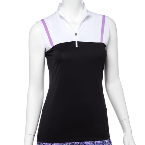 EP Pro Club Med Tape Trim Sleeveless Polo