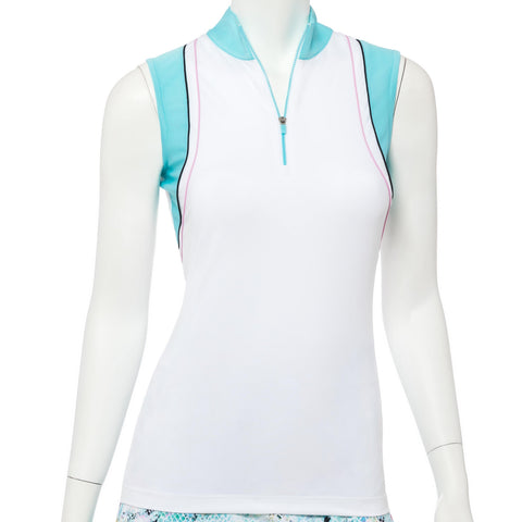 EP Pro Bora Bora Lacing Sleeveless Polo