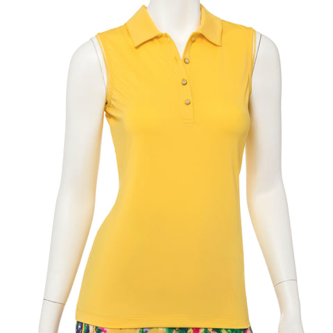 EP Pro Soleil Butterfly Sleeveless Polo