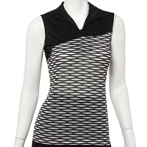EP Pro Work It Sleeveless Blocking Polo
