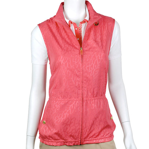 EP Pro From Afar Embossed Tab Collar Vest