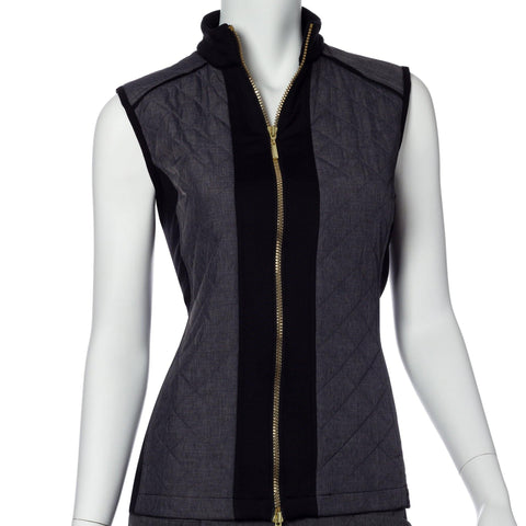 EP Pro Gold Standard Quilt and Knit Panel Vest