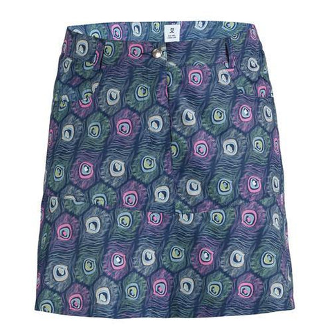 Daily Sports Peacock Skort