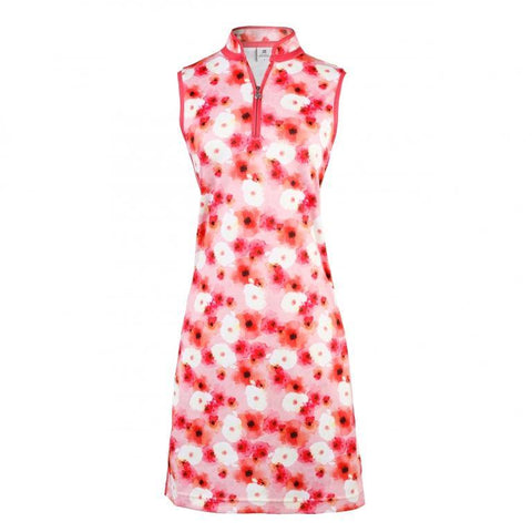 Daily Sports Coral Bloom Tori Sleeveless Dress