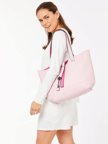 Belyn Key Pink Keystone Tote - Gals on and off the Green
