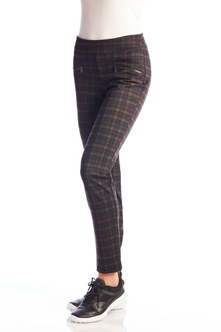 Swing Control Dover Print Pant with Zippers