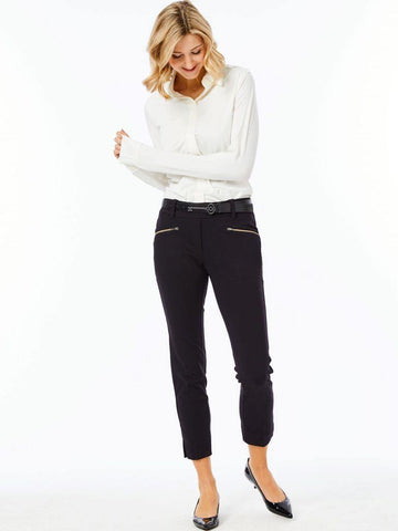 Belyn Key Onyx Commuter Crop Pant