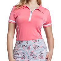 GG BLUE Melon Melody BELLA SHORT SLEEVE POLO