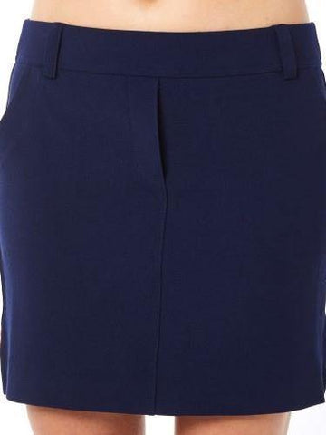 Belyn Key Ink Oxford Skort