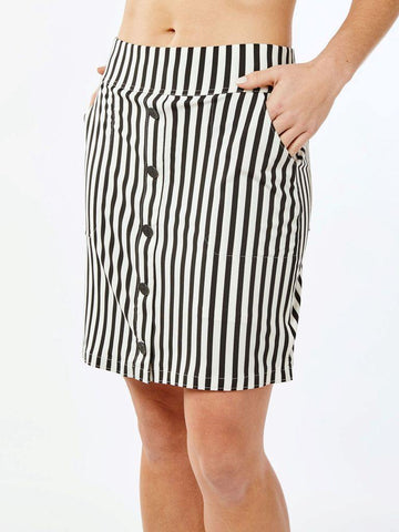 Belyn Key Carlisle Button Skort