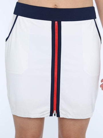 Belyn Key Monterey Zip Front Skort (Short) - Gals on and off the Green