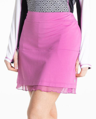 Bette & Court Condor Mulberry Flip Skort - Gals on and off the Green