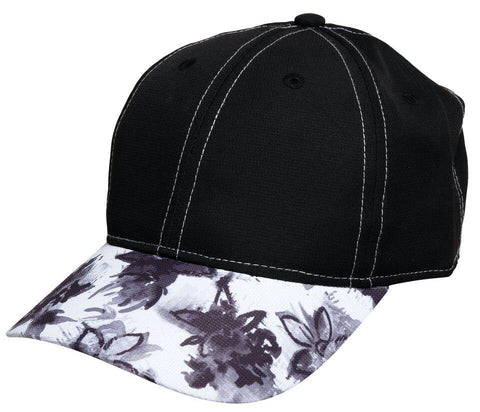 GloveIt 2021 Graphite Flower Cap - Gals on and off the Green