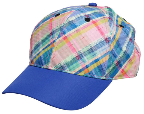 GloveIt 2021 Plaid Sorbet Cap