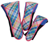 GloveIt 2021 Plaid Sorbet Club Covers