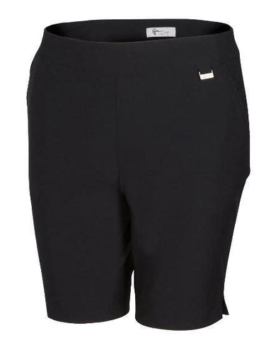 Greg Norman Essentials Pull-On Stretch Short - Gals on and off the Green