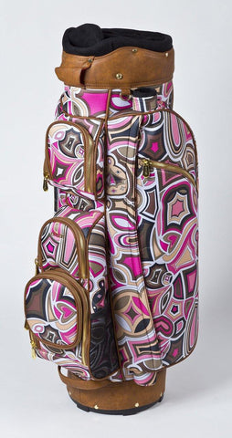 Cutler Davis Pink Golf Bag