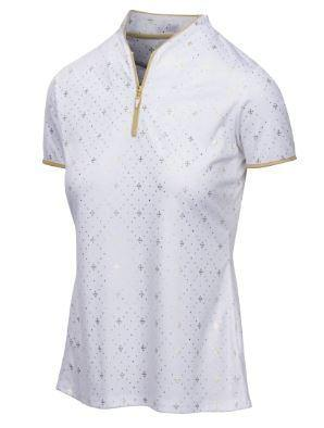 Greg Norman Diamond Zip Polo