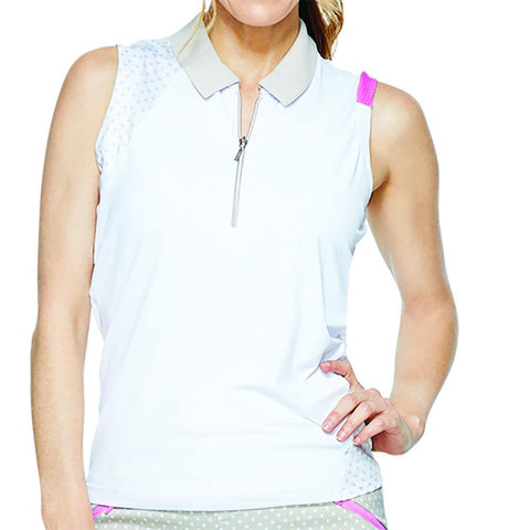 GGBlue Inspire April Sleeveless Polo