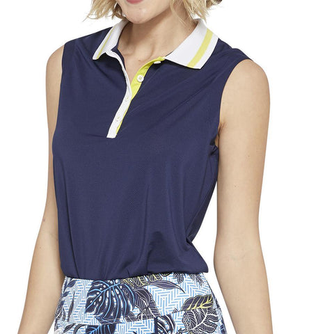GGBlue Escapade Holly Sleeveless Polo