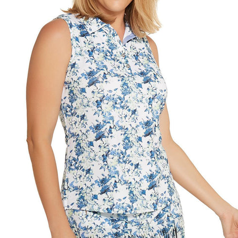 GGBlue Grace Holly Sleeveless Polo