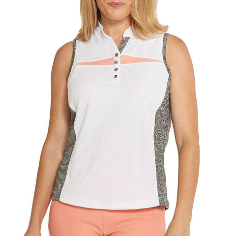 GGBlue Divine Kai Sleeveless Polo - Gals on and off the Green