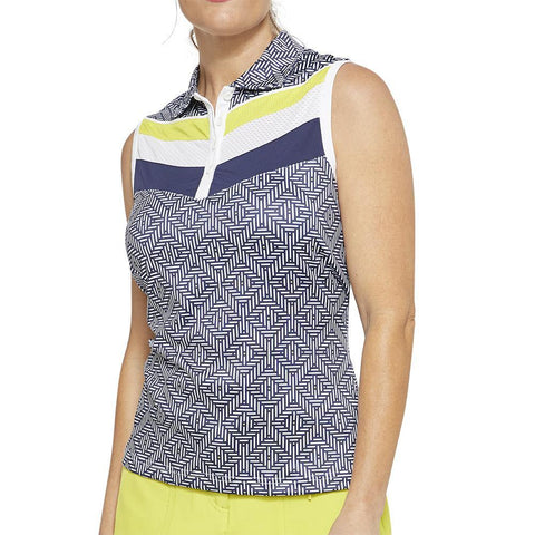 GGBlue Escapade Sonia Sleeveless Polo
