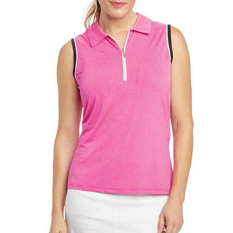 GGBlue Allure Kathy Sleeveless Polo
