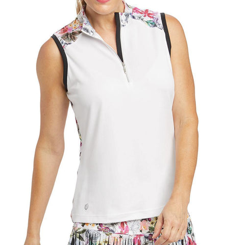GGBlue Allure Sophia Sleeveless Polo