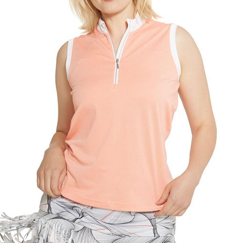 GGBlue Divine Tess Sleeveless Polo - Gals on and off the Green