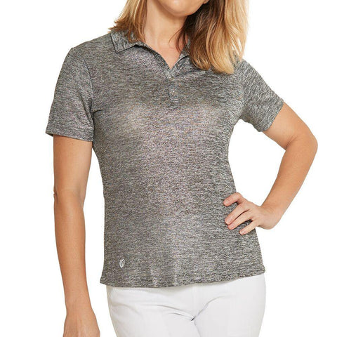 GGBlue Divine Dora Charcoal Short Sleeve - Gals on and off the Green