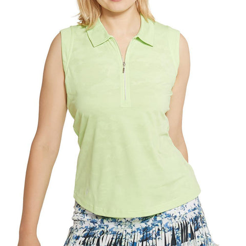 GGBlue Grace Katy Sleeveless Polo (Multiple Colors)