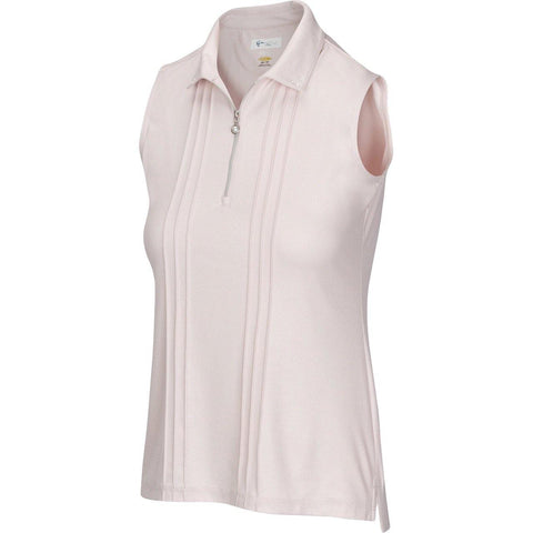 Greg Norman Pearlescent Luster Sleeveless Polo