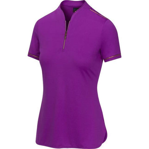 Greg Norman Imperial Sartorial Stretch Zip Polo