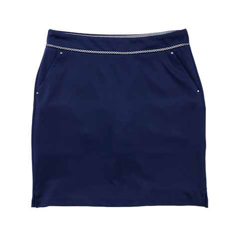 Greg Norman Chain Reaction Ribbon Trim Skort