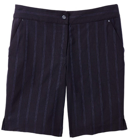 Greg Norman El Morado Pin Stripe Short