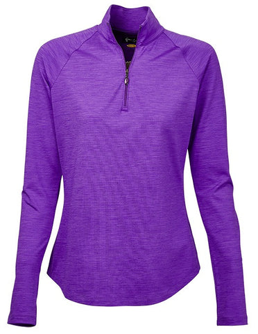Greg Norman El Morado 1/4 Sleeve Spaced Dyed Pullover