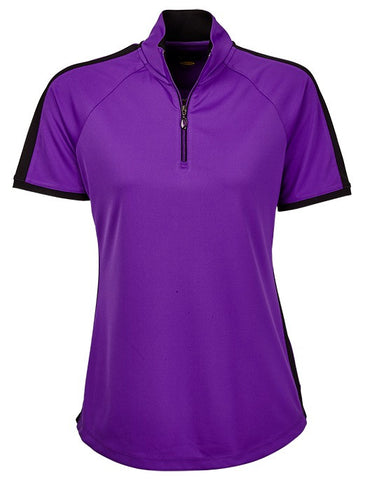 Greg Norman El Morado Short Sleeve Contrast Trim Polo