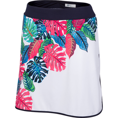 Greg Norman Palm Beach Royal Palm Knit Skort