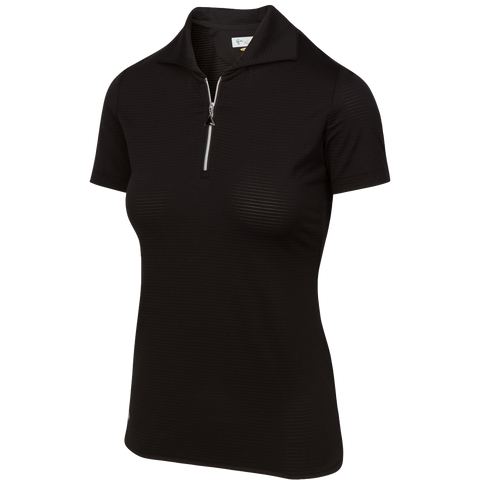 Greg Norman Grand Prix Citcuit Stretch Zip Polo