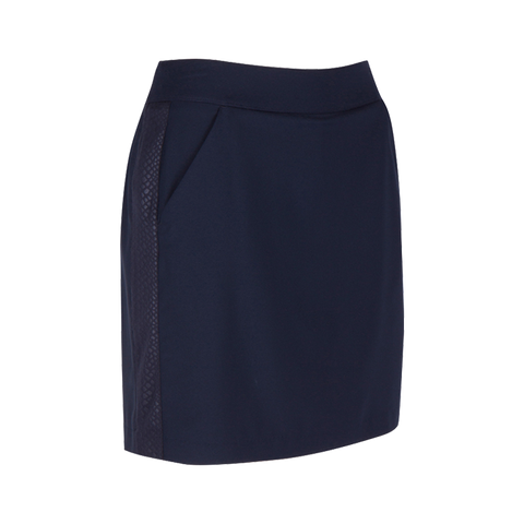 Greg Norman Skins Game Embossed Python Knit Skort