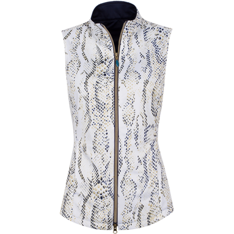 Greg Norman Skins Game Printed Python Vest