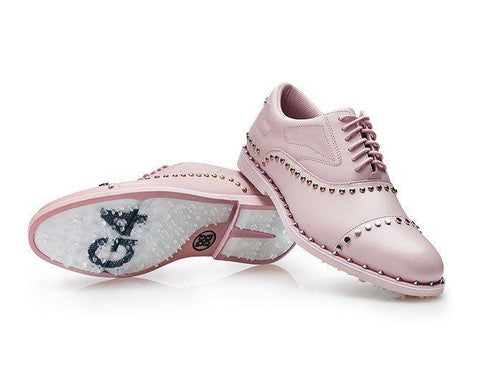 G/Fore Welt Stud Gallivanter Shoe in Blush