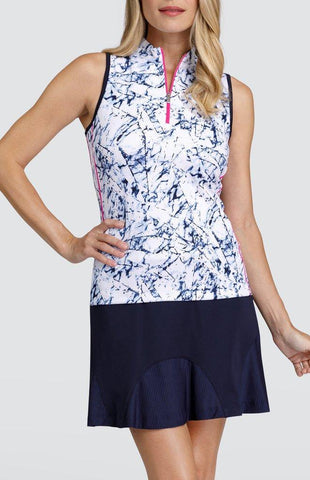 Tail Gemstone Aisha Sleeveless Polo