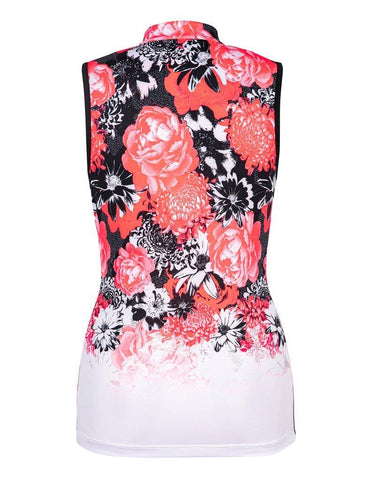 Tail Peony Petals Flori Sleeveless Top