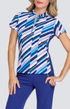 Tail Greek Isles Summer Short Sleeve Polo