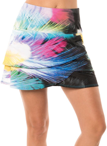Lucky in Love Light as a Feather Scallop Skort